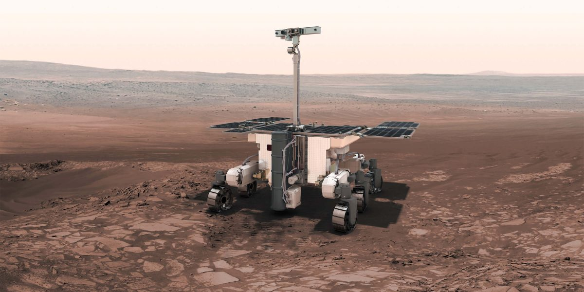 What is the ExoMars rover?